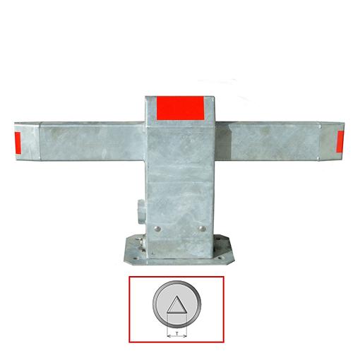 Barrière de parking Resiparc modèle clé TRIANGLE T13 (passe pompiers)