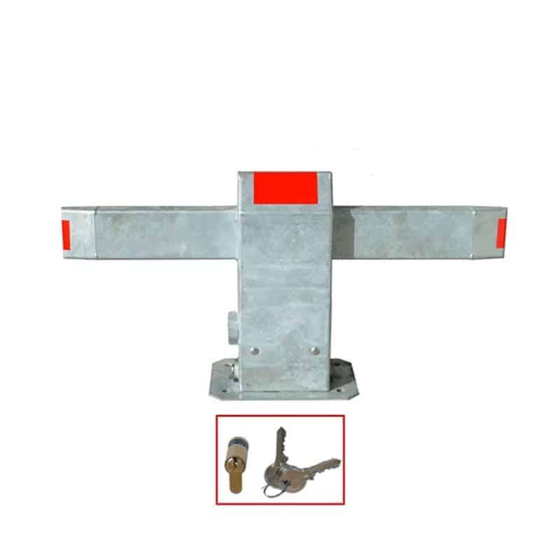Barrière de parking Resiparc modèle clé standard (cylindre europe)